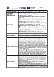 scheda progetto - Torino Strategica