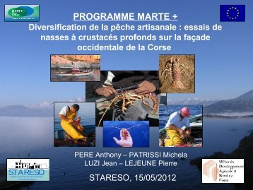 Diversification de la pêche artisanale