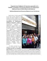 COIAM en Caracas.pdf - Forest Peoples Programme