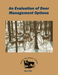 An Evaluation of Deer Management Options - Delaware Department ...