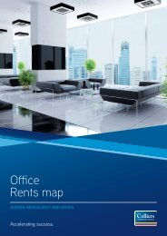 Office Rents map - Colliers International