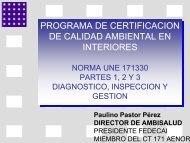 programa de certificacion de calidad ambiental en ... - CRESCA