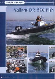Valiant DR 620 Fishing: Série limitée pour b... - Brunswick Marine