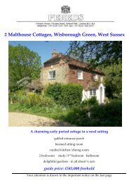2 Malthouse Cottages, Wisborough Green, West Sussex A ... - Pereds
