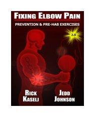Fixing Elbow Pain: Prevention Pre-Activity Preventive ... - Diesel Crew