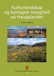 Kulturlandskap og biomangfold på Haugalandet - Karmøy kommune