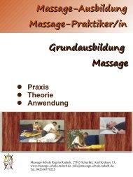 Ausbildungsbroschüre A4 1013 web2 - Massage Schule Regina ...