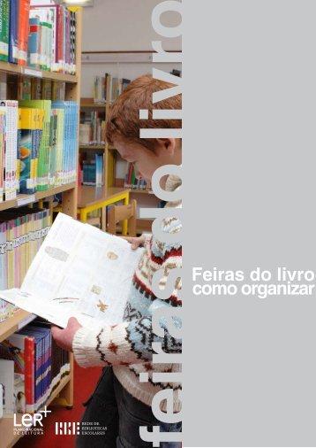 Feiras do livro: como organizar - RBE