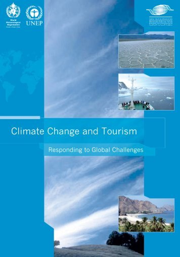 Climate Change and Tourism - UNEP - Division of Technology ...