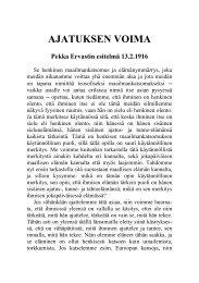 1916 02 13 Ajatuksen voima - Pekka Ervast