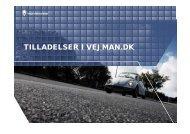 TILLADELSER I VEJMAN.DK - Om vejman.dk