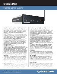 Crestron MC3 - CE Pro