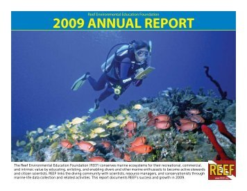 REEF 2009 Annual Report Released