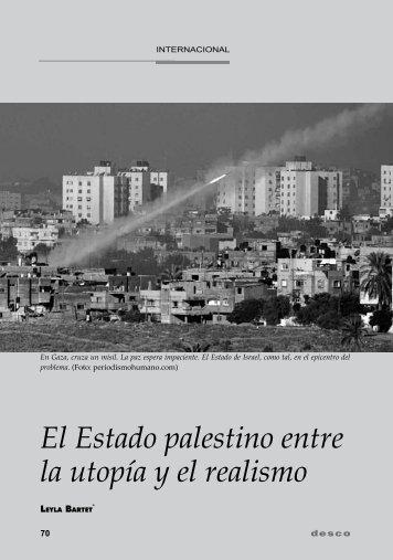 El Estado palestino entre la utopía y el realismo - Desco