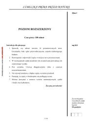 POZIOM ROZSZERZONY - Zadania.info