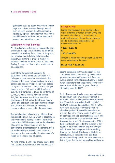 Wind Power in the UK (PDF). - Sustainable Development Commission