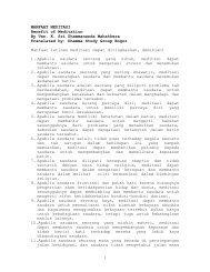 MANFAAT MEDITASI - Ven Dr K Sri Dhammananda