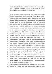 PACUERA PCH São Joaquim Consulta Pública ao Plano Ambiental ...