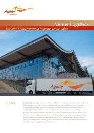 Venue Logistics - Agility