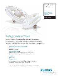Energy saver circlines - Philips Lighting