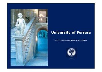IUSS Ferrara 1391 PPT Brochure web