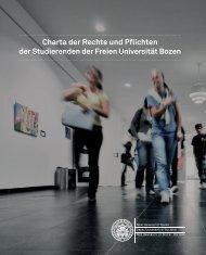 Studierendencharta - Freie Universität Bozen