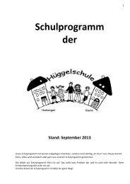 Schulprogramm der