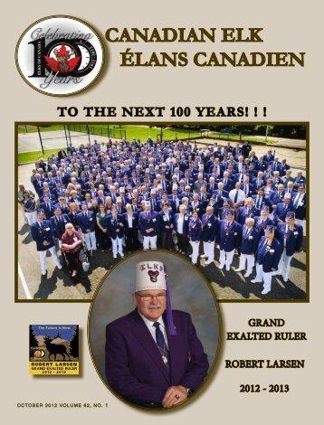 October 2012 - Elks of Canada