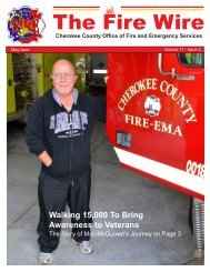 Fire Wire - Cherokee County Fire and Emergency Services