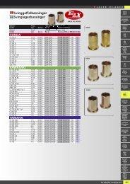 Svinggaffelbøsninger og lejer - Masi-Import