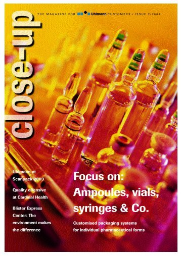 Focus on: Ampoules, vials, syringes & Co. - Safety Syringes, Inc.