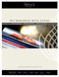 2011 Worldwide Hotel Listing
