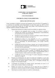 Assembléia Geral Extraordinária - Edital de Convocação - Vale.com