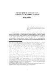 Pietre - Catalogo Informatico delle Riviste Culturali Europee