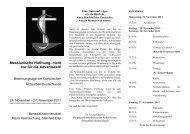 Programm - Katholische Ärztearbeit Deutschlands eV