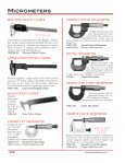 gauges & micrometers view catalog - Pianotek Supply Company - Page 2