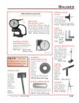 gauges & micrometers view catalog - Pianotek Supply Company - Page 3