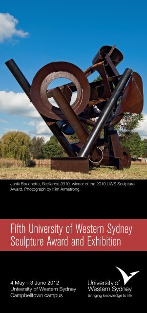 Fifth University of Western Sydney Sculpture Award and Exhibition