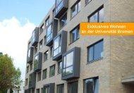 Exklusives Wohnen an der Universität Bremen - Kapitalpartner ...
