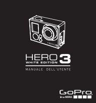Istruzioni HERO3 WHITE- ITALIANO - Athena Evolution