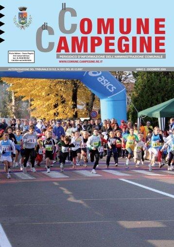 Dicembre 2 - Comune di Campegine