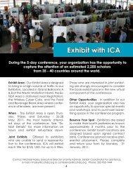 Exhibit with ICA - International Communication Association