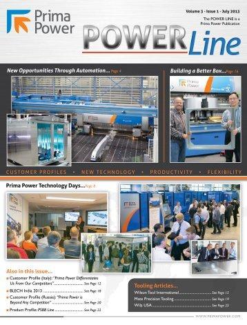 Power Line - Prima Power