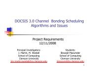 Requirements - Clemson University