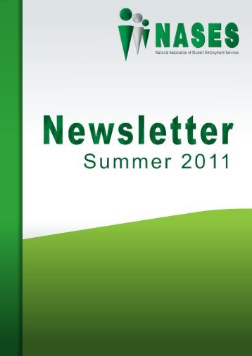 Summer edition of the NASES Newsletter