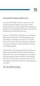 Informationsbroschüre CONTI-PORTal - CONTI Unternehmensgruppe - Seite 3