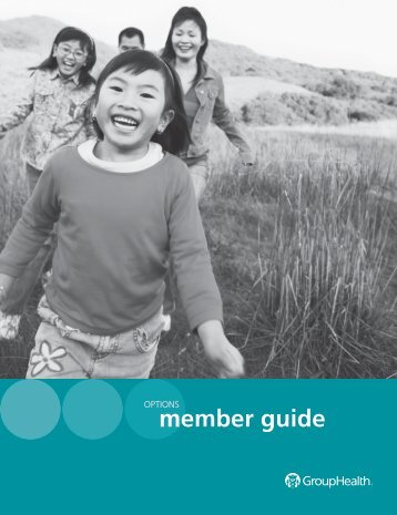 Options Member Guide - Group Health Cooperative