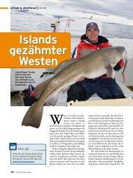 Islands gezähmter Westen - Kingfisher Angelreisen