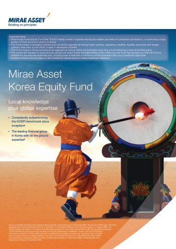Mirae Asset Korea Equity Fund - Mirae Asset Global Investments