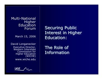 Printable PDF version - WICHE